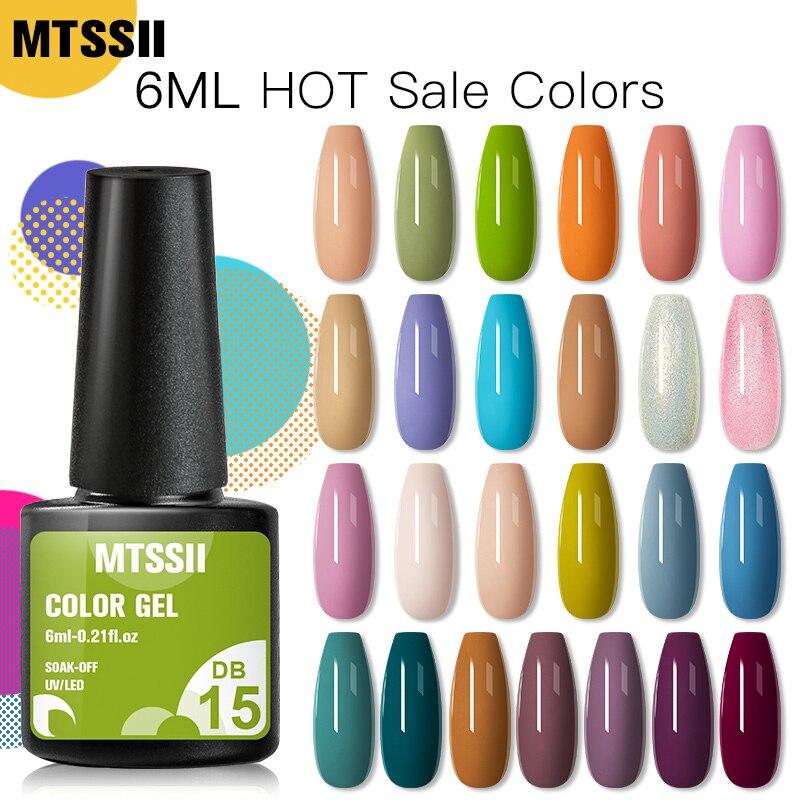 Mtssii 8 мл Гель лак для ногтей Блестящий для маникюрного набора для дизайна ногтей полуплоский УФ светодиодный лаки для ногтей базовый верхний слой Гель лак Гель для ногтей    АлиЭкспресс - Для красоты и здоровья