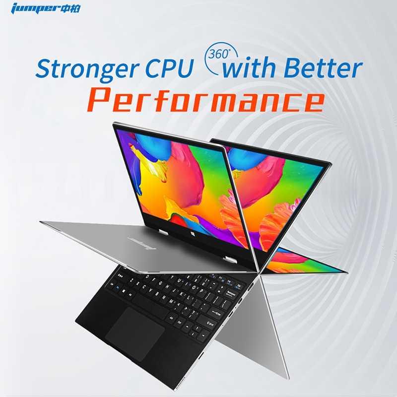 الطائر Ezbook X1 محمول 11.6 بوصة Fhd Ips لمس 360 درجة تدوير Ultrabook 4Gb + 128Gb 2.4G /5Ghz Wifi دفتر