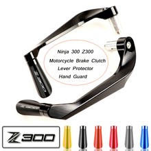 7/8 (22mm) Brake Clutch Lever Protector Hand Guard System Silp on for Ninja 300 Z300 2014 2015 2016 2017 2018 2019