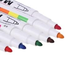 12 Colors Whiteboard Marker Non Toxic Mark Sign Fine Nib Set Supply 652E