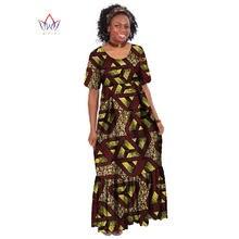 Robe Africaine longue en Bazin pour femmes, vêtements africains, imprimé cire, WY255, nouvelle collection, été