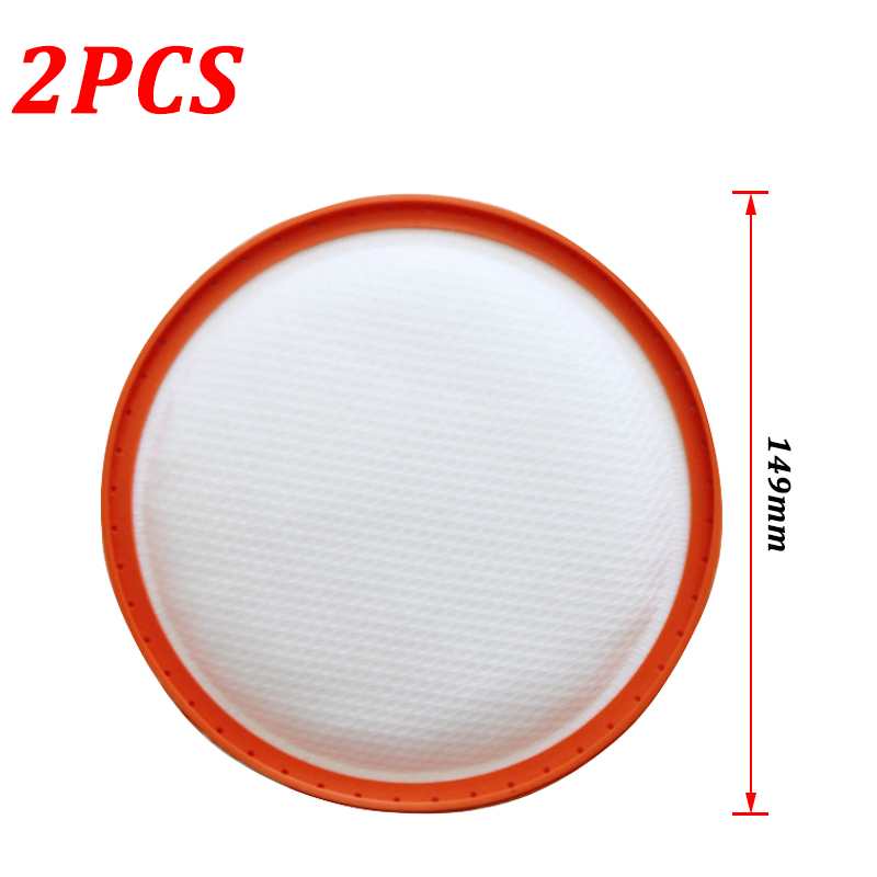 2PCS Replacement Pre Motor HEPA Filter For VAX C88 C89 U88 U89 U91 C88-VW-B C89-MA-P C89-P6-B Robot Vacuum Cleaner Parts