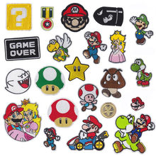 Cartoon Ijzer Op Patch Geborduurde Kleding Patches Voor Kleding Kids Umbreon Doek Stickers Kledingstuk Applicaties(China)