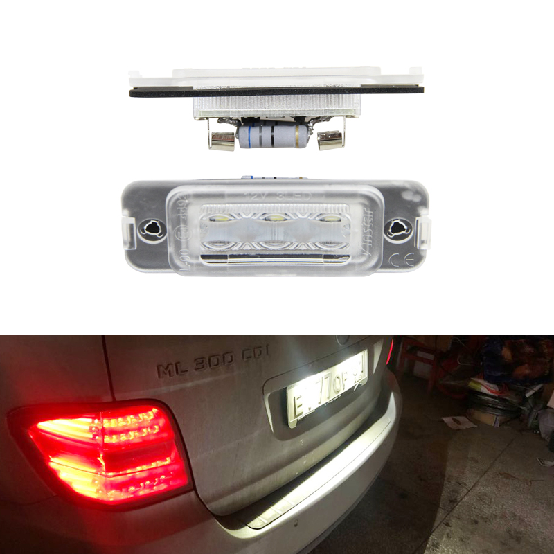 Fits Mercedes R-Class W251 R 350 White 54-SMD LED 12v Side Light Parking Bulbs