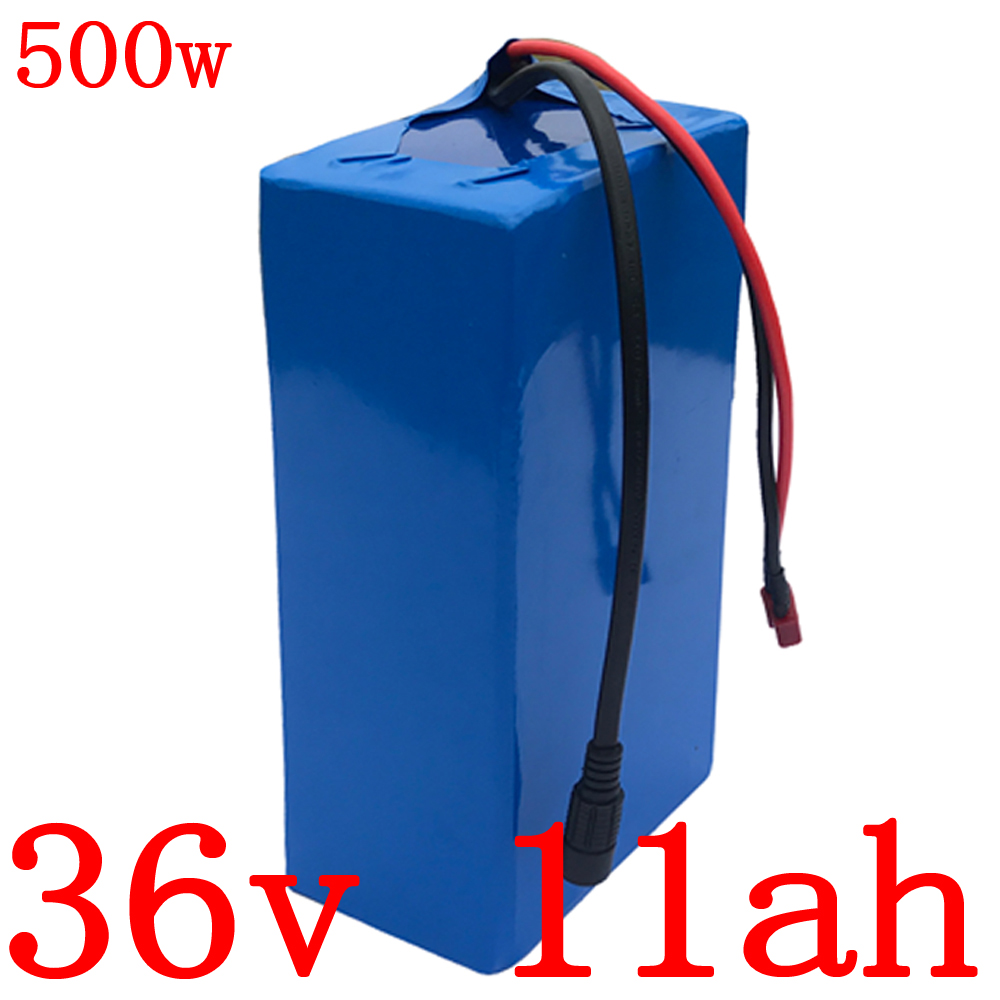 36v Lithium battery pack 36v 11ah electric bike battery 36v 9ah 11ah 13ah Lithium battery for 36V 250W 350W 500W ebike motor