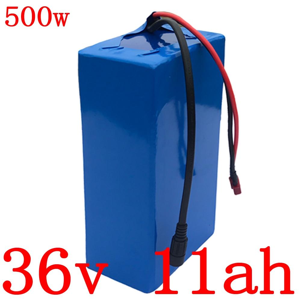 36v Lithium battery pack 36v 11ah electric bike battery 36v 9ah 11ah 13ah Lithium battery for 36V 250W 350W 500W ebike motor