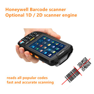 Image 3 - PDA Scanner Portable Data Collector IP65 Rugged Warehouse 2D QR 1D Laser scanner PDA Handheld Terminal Android Barcode Scanner
