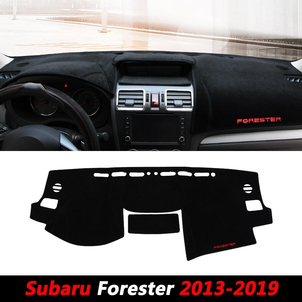 Car LHD RHD Front Rear Dashboard Cover Mat Auto Sun Shade Cushion Pad For Subaru Forester SJ 2013 2014 2015 2016 2017 2018 2019