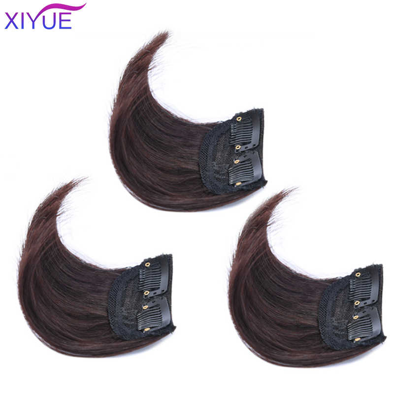 Xiyue Short Hair Pieces Invisible Clip In Hair Pad High Hair Pieces In Hair Extension Fluffy Synthetic Natural Fake Hairpieces Synthetic Clip In One Piece Aliexpress