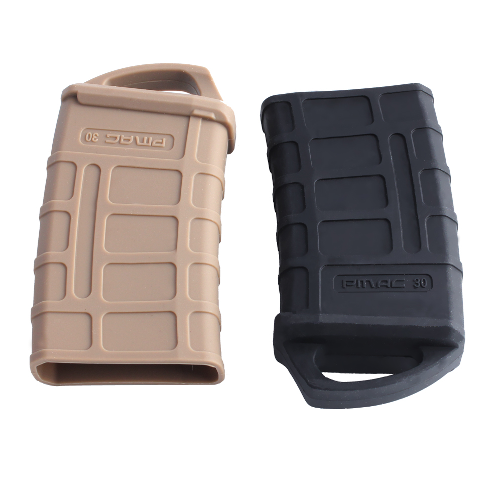 Magorui 1Pcs M4/M16 PMAG Fast Magazine Rubber Holster  Rubber Pouch Sleeve Rubber Slip Cover