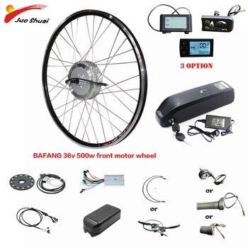 Bafang-Kit de conversión de bicicleta eléctrica, 36V, 500W, con batería de litio,...