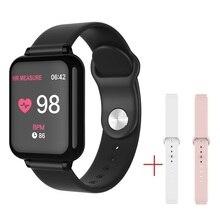 SENBONO IP67 مقاوم للماء ساعة ذكية B57 الرياضة رصد معدل ضربات القلب ضغط الدم smartwatch للنساء الرجال طفل أندرويد IOS آيفون