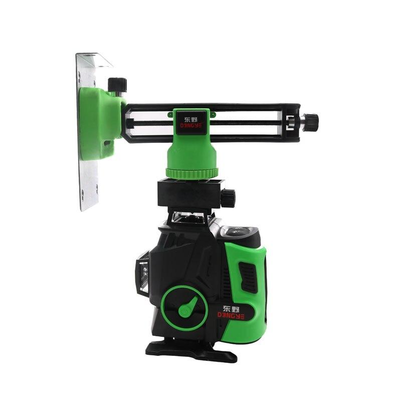 XEAST 2020 nowy profesjonalny 16 linii 4D poziom lasera japonia ostry zielony 515NM wiązki 360 pionowe i poziome samopoziomujący krzyż