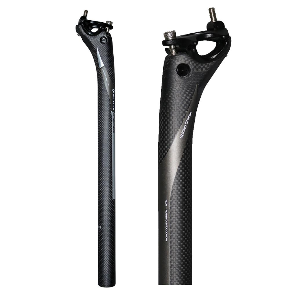 OPERA new BXT full carbon bicycle seatpost MTB road mountain bike carbon seat post seat tube 27.2/31.6*350/400 mm bicycle parts