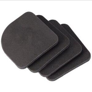 Image 3 - 1set=4pcs! Black Furniture Chair Desk Feet protection pads EVA Rubber Washing Machine Shock Non slip mats Anti vibration Noise