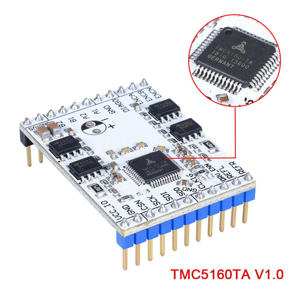 3D Printer Parts TMC5160TA-V1.0 BOB High Power Stepper Motor Driver TMC5160 StepStick Super Silent With StealthChop/SpreadCycle