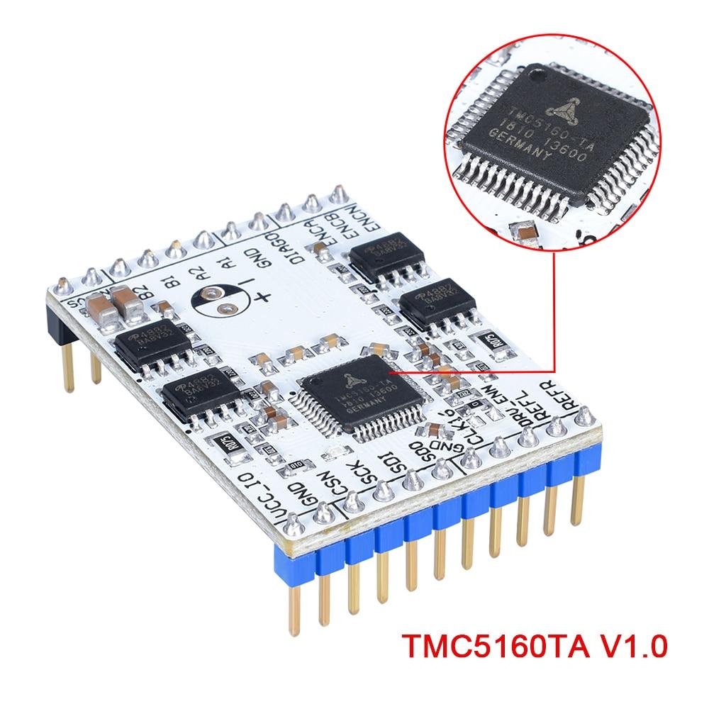 3D Printer Parts TMC5160TA-V1.0 BOB High Power Stepper Motor Driver TMC5160 StepStick Super Silent With StealthChop/SpreadCycle