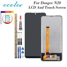 Ocolor para doogee n20 display lcd e tela de toque 6.3 digitizer substituição digitador assembléia com ferramentas + adesivo para doogee n20