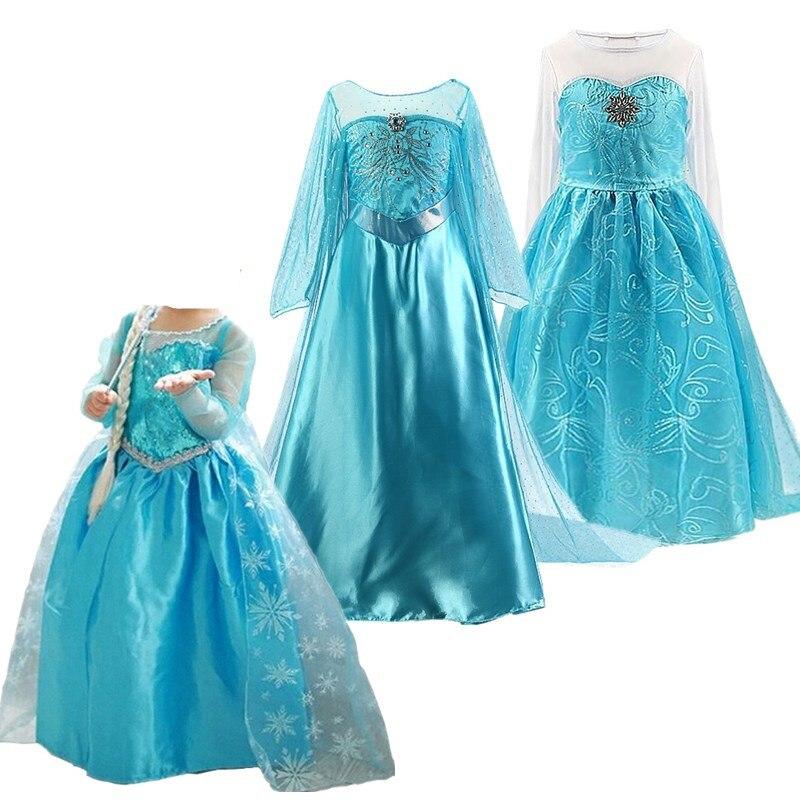 Fancy Girls Dress Cosplay Halloween Costume For Kids Girls Dresses Baby Princess Dress Up Holiday Children Clothing 1