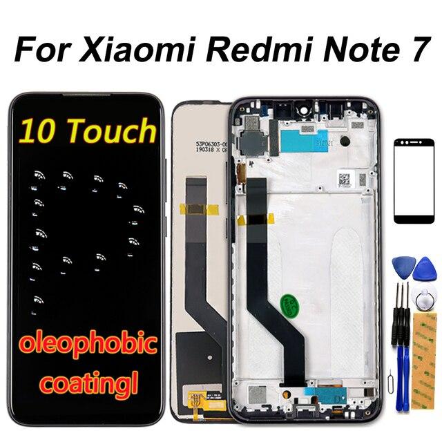 จอแสดงผล LCD สำหรับ Xiaomi Redmi หมายเหตุ 7 LCD Touch Screen Digitizer ASSEMBLY 10 TOUCH สำหรับ Redmi Note7 Pro / Note7 repair Part