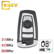 BHKEY 4 Tasten Flip Floding Smart Auto Schlüssel für BMW 1 3 5 6 Serie X5 Auto Remote Key Fob 315mhz 433mhz 868mhz CAS2 System