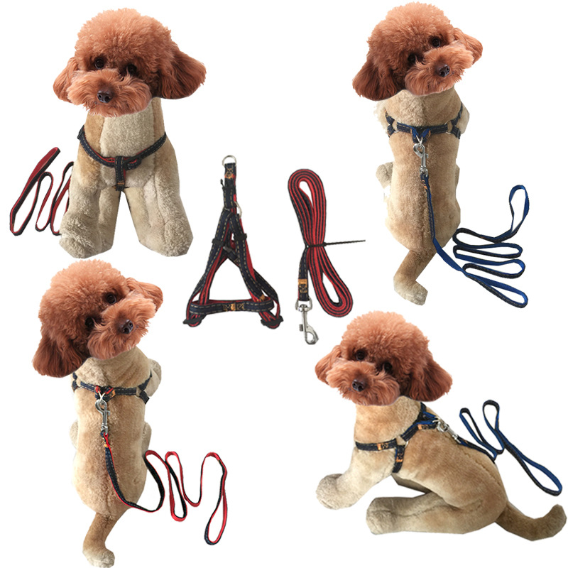 Thick Wear-Resistant Bite Resistant Hand Holding Rope Dog Hand Holding Rope Cowboy Hand Holding Rope Nursing Traction Chest And