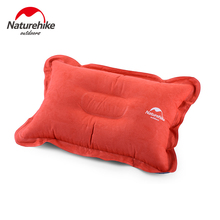 цена на Naturehike Outdoor Portable Ultralight Inflatable  Air Pillow Sleep Cushion Travel Tour Bedroom Hiking Camping Sleeping Pillow