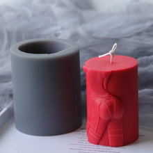 Silicone Mold Cylinder Woman Girl Temptation Handmade Sexy