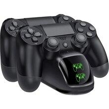 PS4 Slim Pro 2 Contrôleur Chargeur Rapide USB Station De Recharge avec INDICATEUR LED Pour Sonly Playstation 4 Dualshock 4 Gamepad