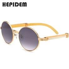 Новые высококачественные мужские круглые солнцезащитные очки