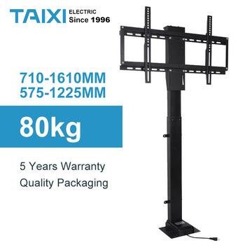 TV LIFT Height Adjustable Mount Electric lifting support for Applicable to 32~70-inch Motorized Vertical Stand Lift