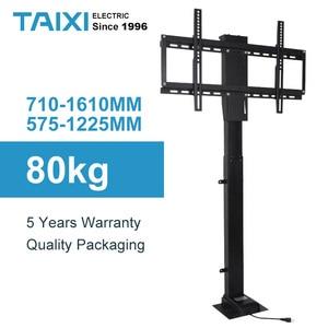 Image 1 - Uchwyt do telewizora regulacja wysokości mocowanie telewizora podnoszenie elektryczne wsparcie dla telewizora odpowiedni do 32 ~ 70 calowy zmotoryzowany pionowy stojak LIFT