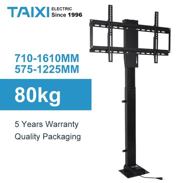 Uchwyt do telewizora regulacja wysokości mocowanie telewizora podnoszenie elektryczne wsparcie dla telewizora odpowiedni do 32 ~ 70 calowy zmotoryzowany pionowy stojak LIFT