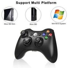 Mando inalámbrico de 2,4G para consola Xbox 360, mando receptor para Microsoft Xbox 360, Joystick de juego para PC win7/8/10