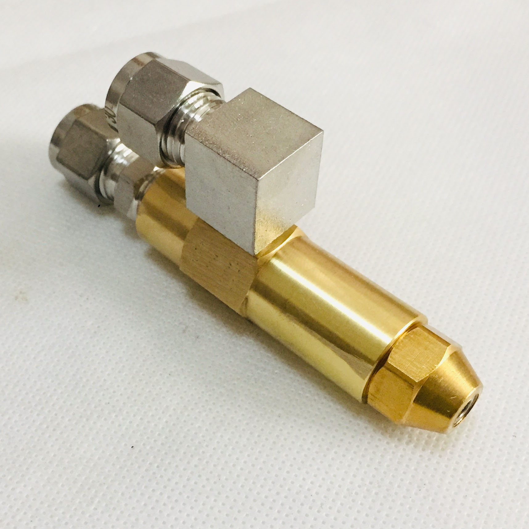 Image 3 - 68mm 0.5/0.8/1.0/1.2/1.5/2.0/2.5/3.0mm Waste oil burner  nozzle,air atomizing nozzle,fuel oil nozzle,full cone oil spray  nozzleSprayers
