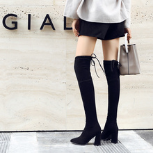 Over The Knee Boots High Heels Boots Women Winter Autumn Boots Women 2019 New Sexy Knee High Boots Women Fashion Black Boot Lady new fashion half knee high boots sexy high heels boots shoes winter autumn platform motorcycle snow style boots for women