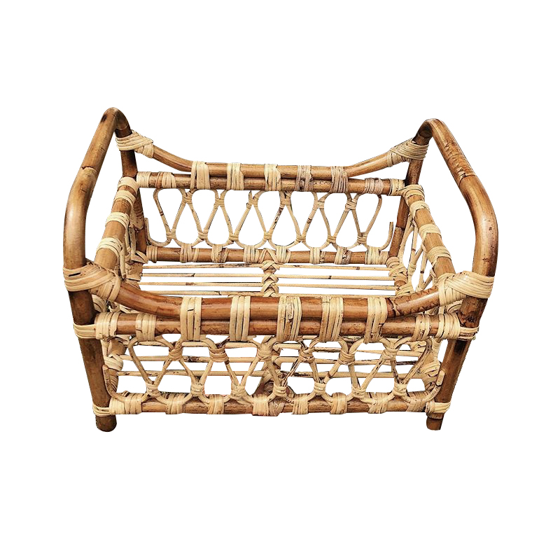 Newborn Photography Accessories  Photo Shooting Props Baby  Infant Vintage Woven Basket  Recién Nacido Boy And Girl Accessorio