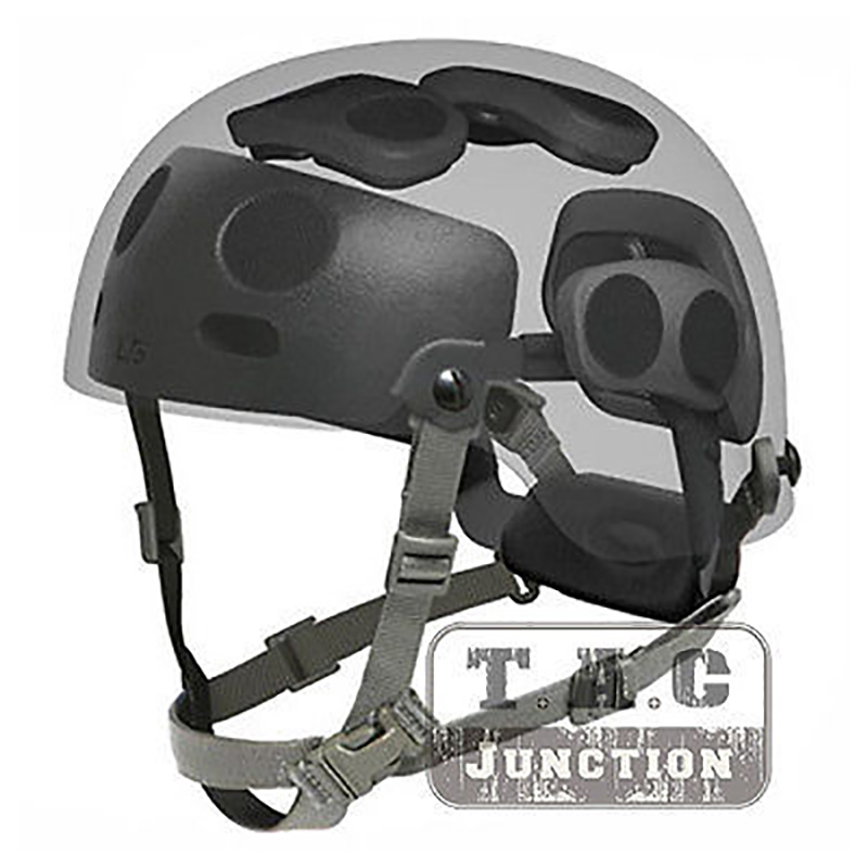 Tactical Helmet Suspension Occ-Dial Liner Kit For Ops-Core Fast ACH MICH BJ PJ Helmet Low Profile Drop-In Replacement Headband
