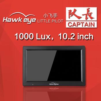 Hawkeye mały Pilot kapitan 5 8G Monitor FPV wysoki jasny ekran 10 2 calowy podwójny odbiornik z DVR 1280*720 dla części RC Drone tanie i dobre opinie SKYRC CN (pochodzenie) NONE Hawkeye Little Pilot Captain 1 13kg as show WALKERA(dianzi)