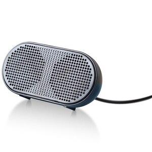 Image 4 - USB Lautsprecher Tragbare Lautsprecher Powered Stereo Multimedia Lautsprecher für Notebook Laptop PC (Schwarz)