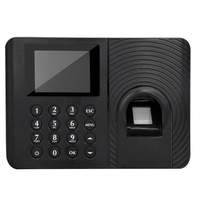 Biometrische Teilnahme System Fingerprint Reader Time Clock Mitarbeiter Teilnahme Maschine Access Control Pendeln Punch Karte Machin-in Zeiterfassung aus Computer und Büro bei
