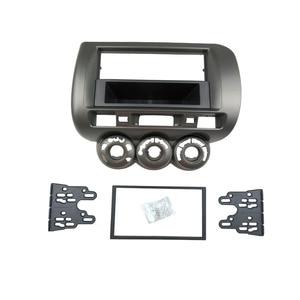 Image 3 - Fascia de Radio para Honda Jazz City One, doble Din, DVD, estéreo, Kit de instalación de montaje en Panel de CD, marco ajustable, bisel