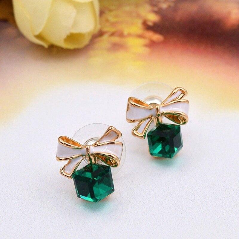 4 Colors Girls Vintage Fashion Acrylic tassel Earrings Women Crystal Water Drop earrings Jewelry Wedding Pierced Dangle Earrings 5