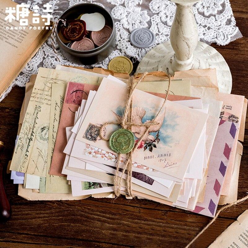 1pack/lot Vintage Letter Series Art Handwritten Decorative Card Envelope Paper Envelopes