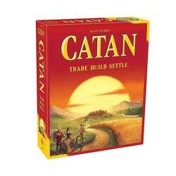 Catan настольная игра: Trade Build Settle/Seafarers/5-6 игроков расширение Полный английский высокое качество Домашняя вечеринка настольная игра