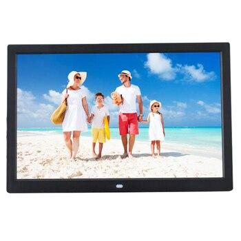 12-дюймовая цифровая фоторамка Full HD, цифровая фоторамка с пультом дистанционного управления, mp4-плеер, фильмы, mp3 видео сигнализация