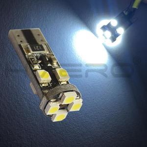 Image 5 - 10X Canbus Xenon beyaz 194 3528 8 Smd hiçbir Obc hata ücretsiz otomatik Led iç ışık kuyruk ampul yedek ışık park lamba Cob led ampul