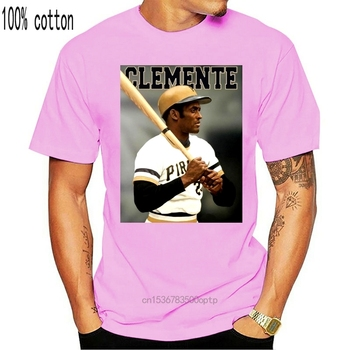 Roberto Clemente Pirates Black T-shirt S-3XL image