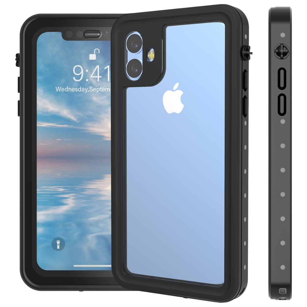 Image 2 - For iPhone 11 11 pro Max Case IP68 Waterproof 360 Degree 
