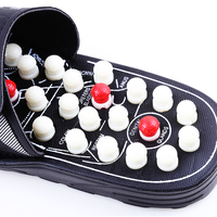 Acupoint Massage Slippers Sandal For Men Feet Chinese Acupressure Therapy Medical Rotating Foot Massager Shoes Unisex 258 3